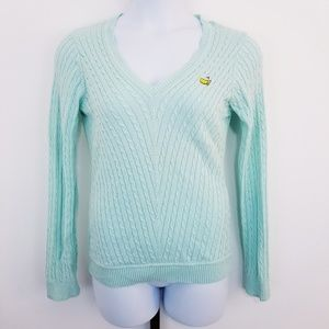 Clover by Bobby Jones Mint Green Masters Sweater